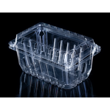 Kundenspezifisches Design Transparente PET-Obstbox